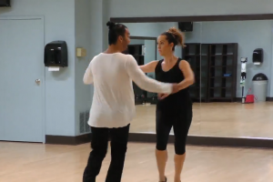 Muhammed Karagoz and Dancing Partner Jessica Kowal