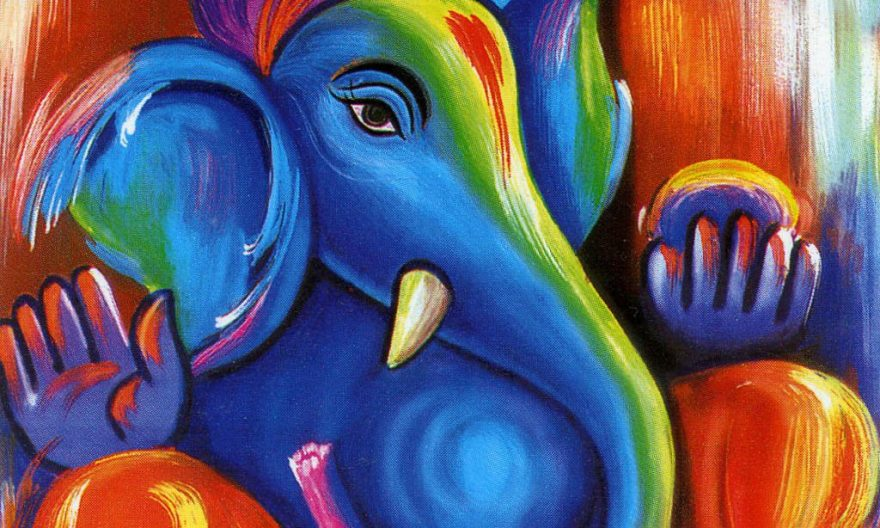 Ganesha paintings
