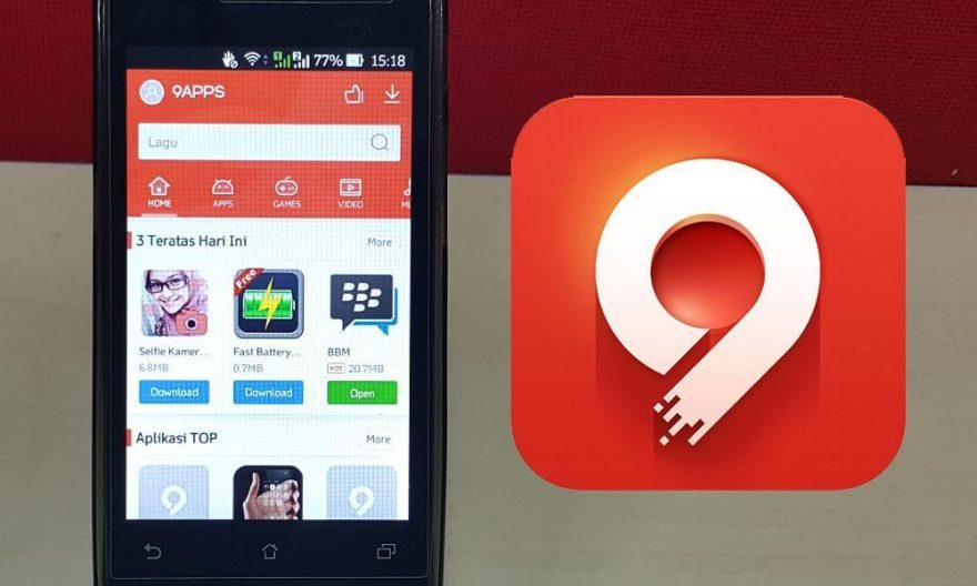 Get your Vidmate Apk easily by installing it from 9Apps